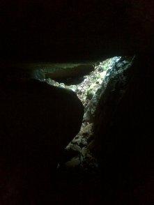 Kuva12041_Matalanmäen luola_väliluolasta näkymä pääluolan ekaosioon